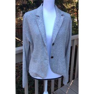 J Crew Wool Blend Cardigan Sweater Blazer